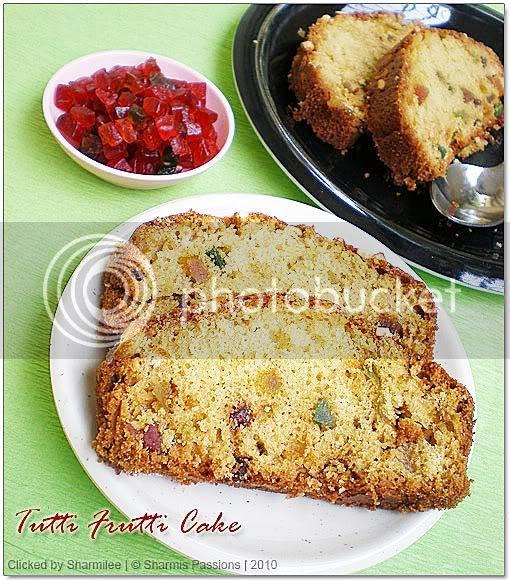 Cakes,Tutti Frutti Cake