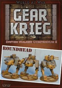 Gear Krieg: British Walker Compendium II - Roundhead