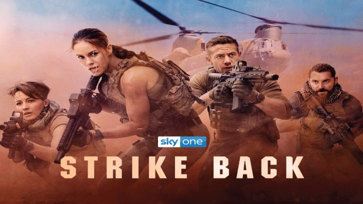 Strike Back - Season 5 - Teaser Promo,  Sky Premiere Date + Press Pack