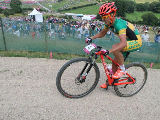 Burry Stander (RSA) - Ciclista de 28 años