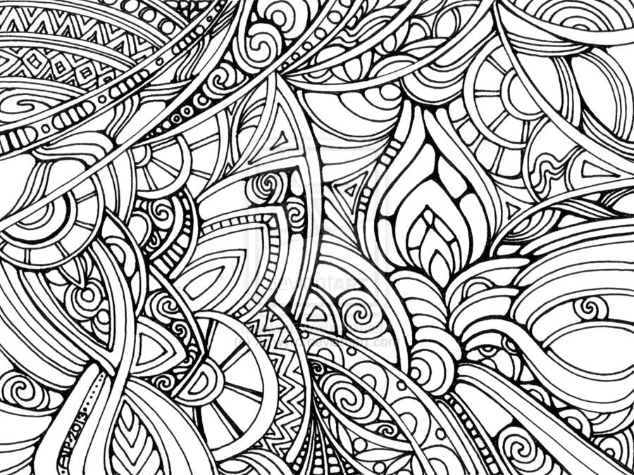 - Doodle Coloring Pages To Download And Print For Free - Coloring Pages