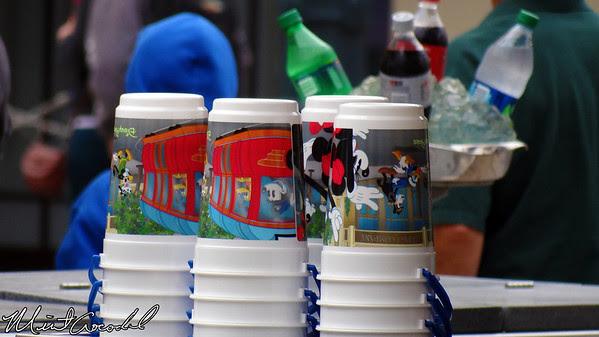 Disney California Adventure, Buena Vista Street, Popcorn Bucket