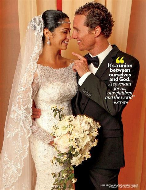 Celebrity Wedding   Matthew McConaughey And Camila Aviles