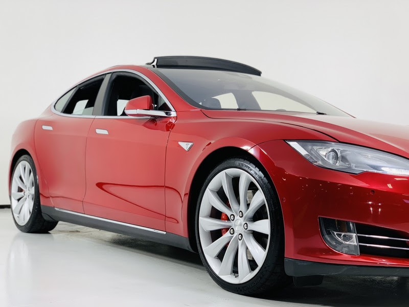 Pre Owned 2016 Tesla Model S P90d Awd Performance