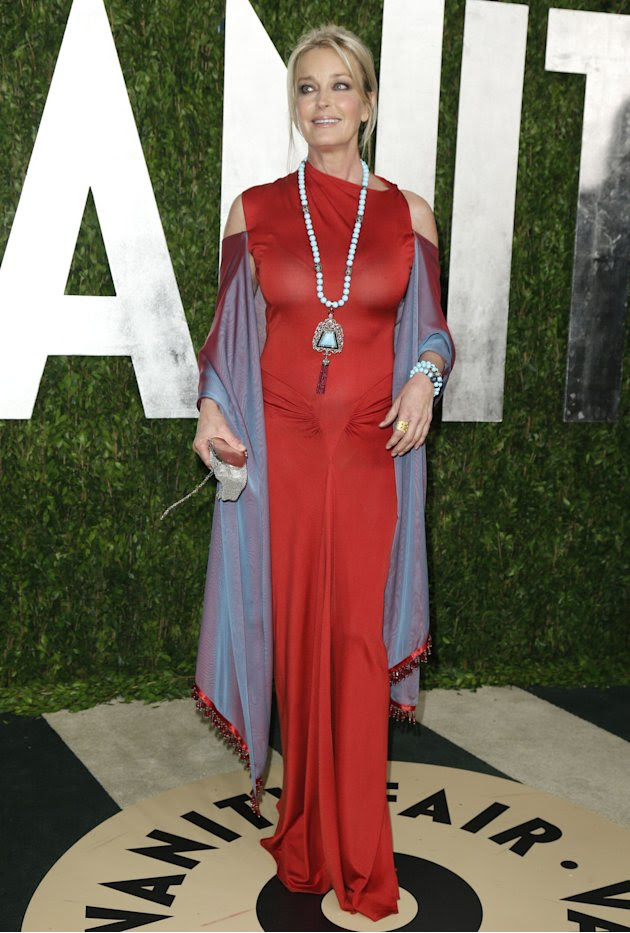 Bo Derek attends the 2013 Vanity Fair Oscars Party in West Hollywood