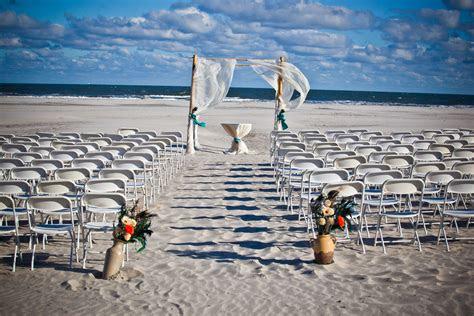 gorgeous beach ceremony space beach wedding  hotel