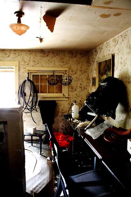 Ma Bell's living room
