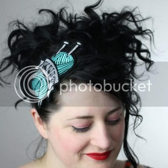 tattoo knit headband