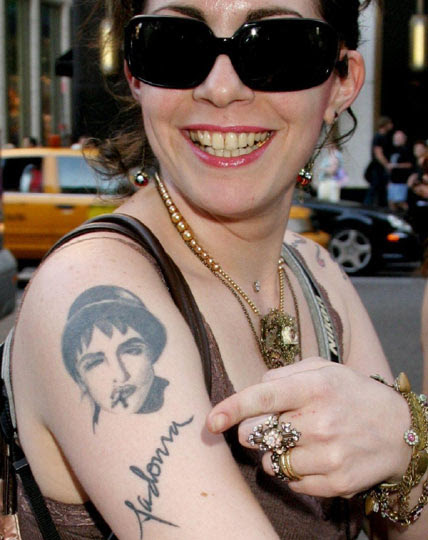 Weird, Wacky and Woeful Tattoos Of Music Stars - PHOTOS ...