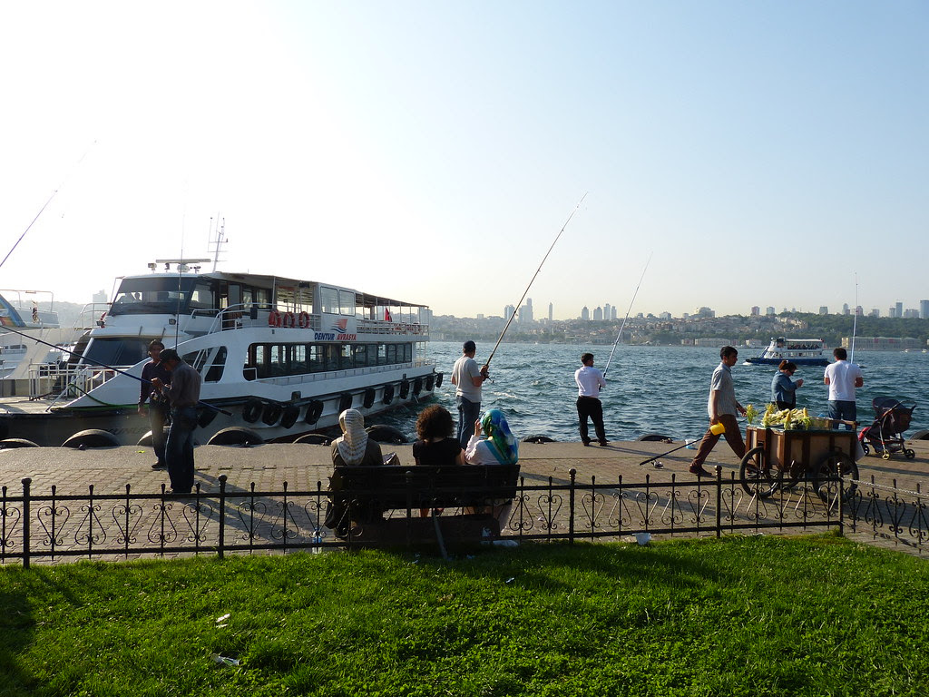 Üsküdar on a Saturday afternoon, Istanbul