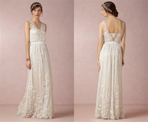 Wedding Dresses For A Backyard Wedding   Rustic Wedding Chic