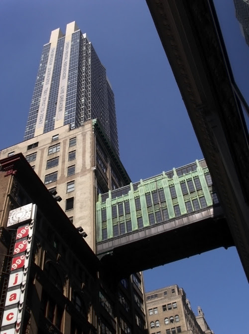 revisit of 32nd Street skybridge, Manhattan