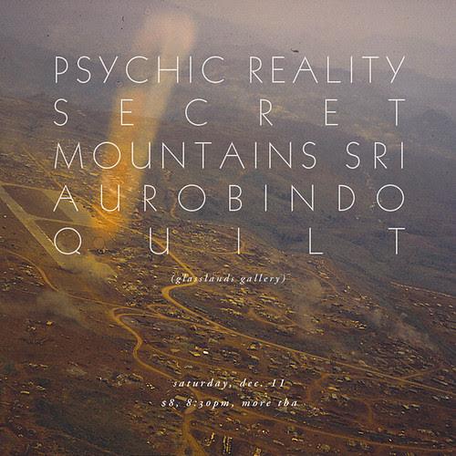 Secret Mountains & Sri Aurobindo @ Glasslands 12.11.2010