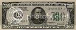 US$500 bill