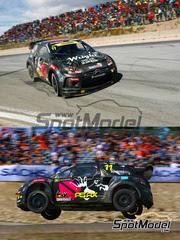 Tabu Design: Calcas escala 1/24 - Citroen DS3 WRC Tengtools Nº 11 - Petter Solberg (NO) - Rallycross 2013 - para kit de Heller 80757, 80758