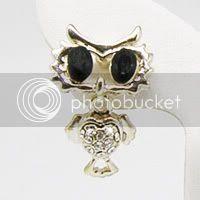 Pig Owl Earrings