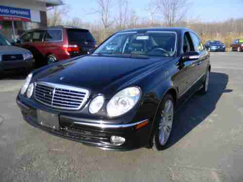 Sell used 2006 Mercedes-Benz E500 4Matic Sedan 4-Door 5.0L ...