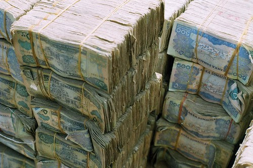 pictures of money stacks