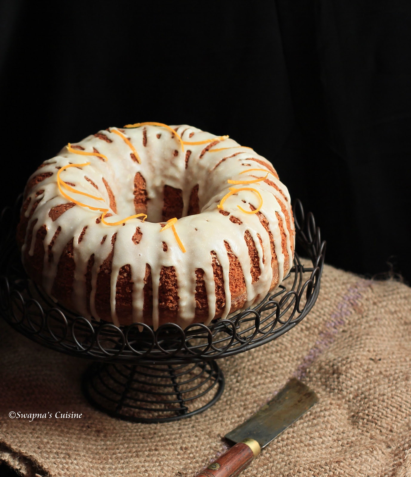 Simple Cardamom Cake