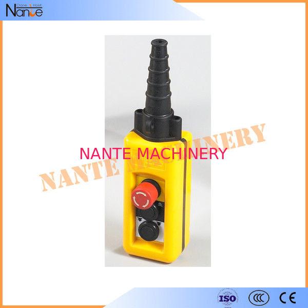 Wireless Double Speed Crane Hoist Pendant Control Hoist Push Button Switch
