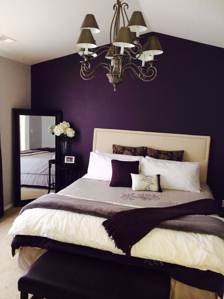 21 Stunning Purple Bedroom Designs For Your Home ...