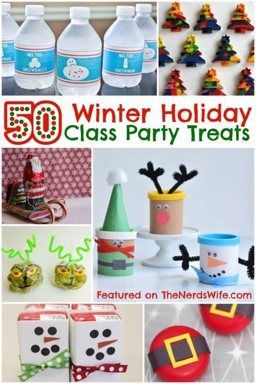 50 Winter Holiday Class Party Treats
