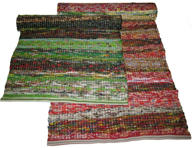 Recycled Plastic Floormat 6ft x 4ft Bright mix