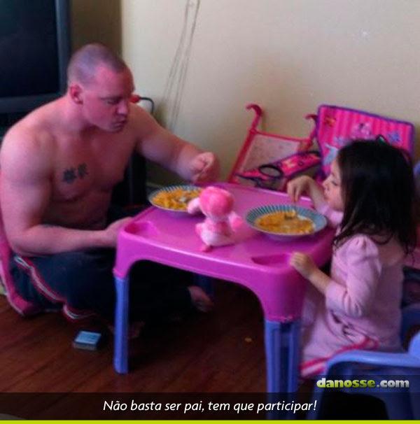 Não basta ser pai...