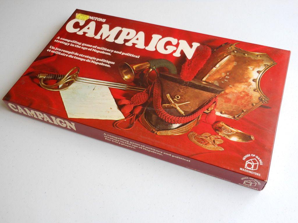 Waddington's Campaign board game