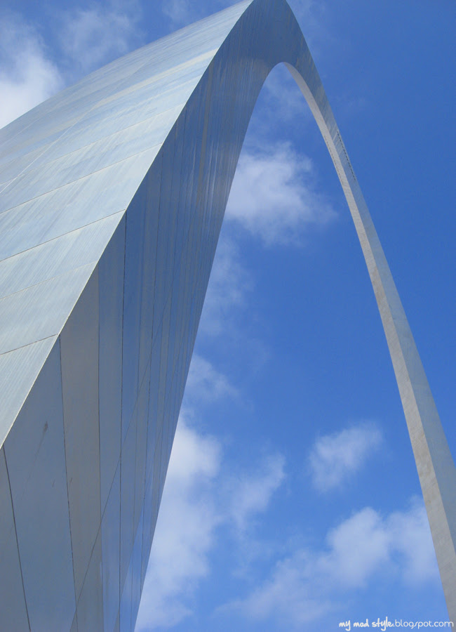 St Louis Next to Arch