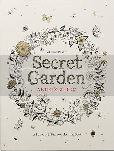 Secret Garden: Artist's Edition by Johanna Basford