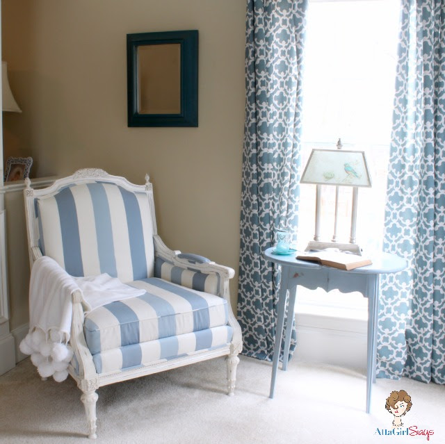 Atta Girl Says Master Bedroom Sitting Room Reading Nook