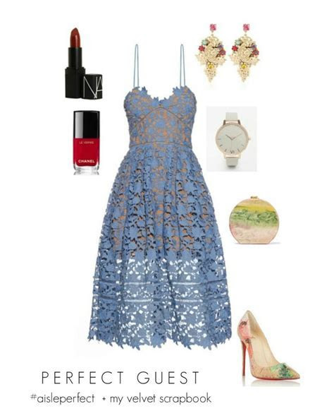 Easter Inspired Blue Wedding Guest Outfit   Wedding Guest