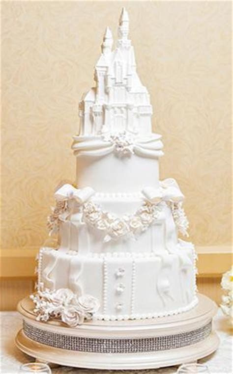 Disney?s Sleeping Beauty Castle Wedding Cake ? Candy Cake