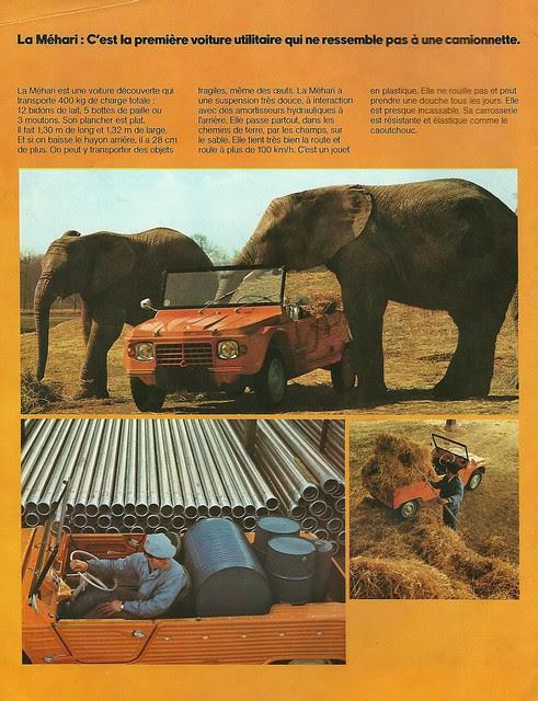 Citroen Mehari - 1974