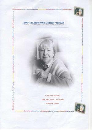 Libro Colaborativo Gloria Fuertes 4º de Primaria