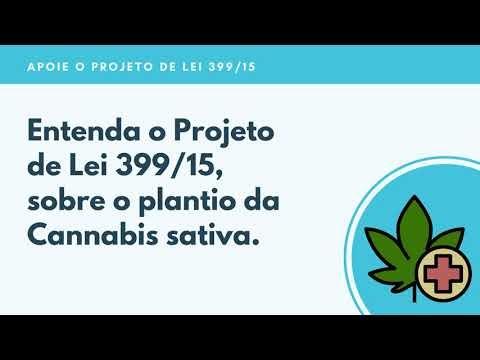 Projeto de Lei 399/15 e o plantio da Cannabis medicinal