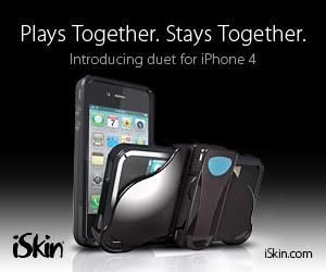 iSkin duet holster case for iPhone 4