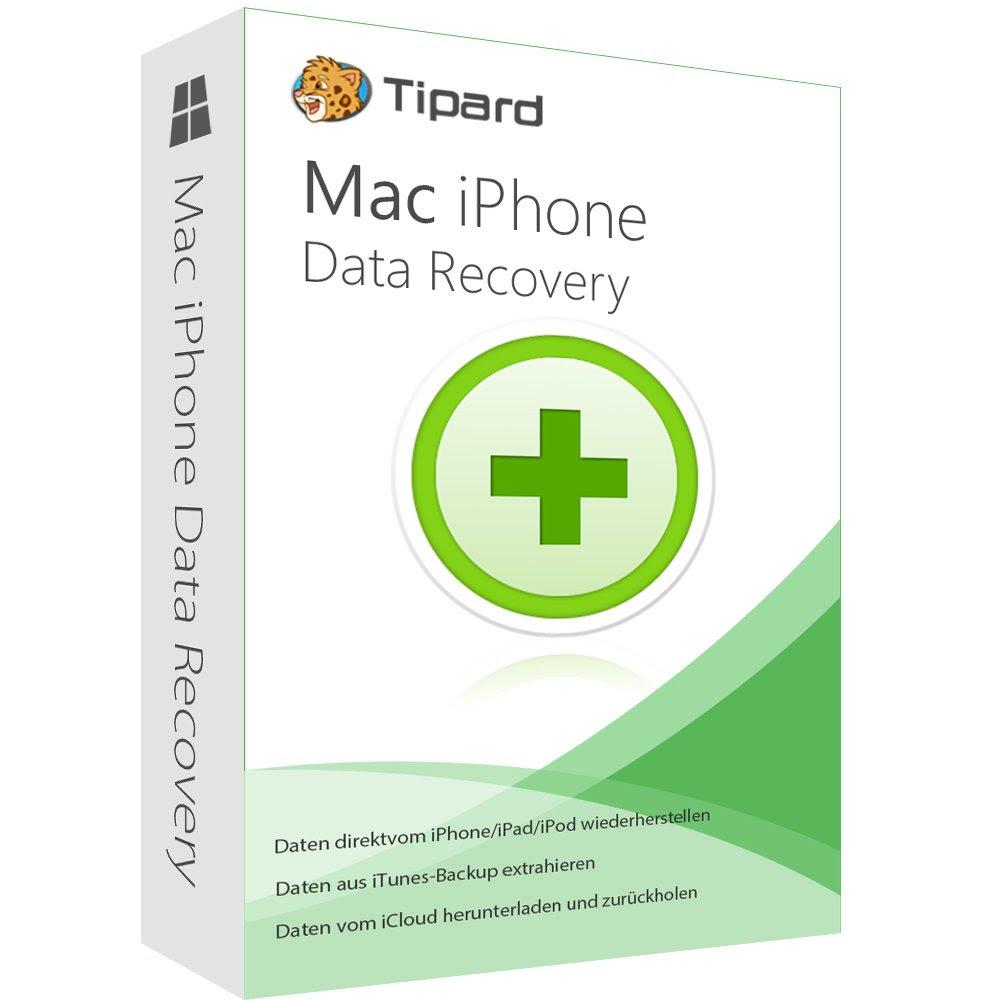 iPhone Data Recovery MAC Tipard dt.Vollversionlebenslange Lizenz ESD Download  eBay
