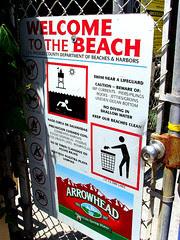 broad beach sign