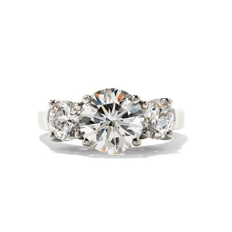 Hearts on Fire Engagement Ring 18   Brombergs