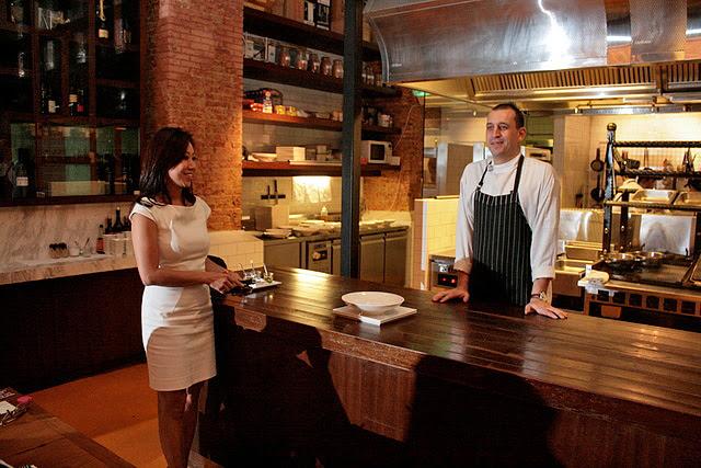 Prime Princess Ingrid Prasatya and Head Chef Damon Amos