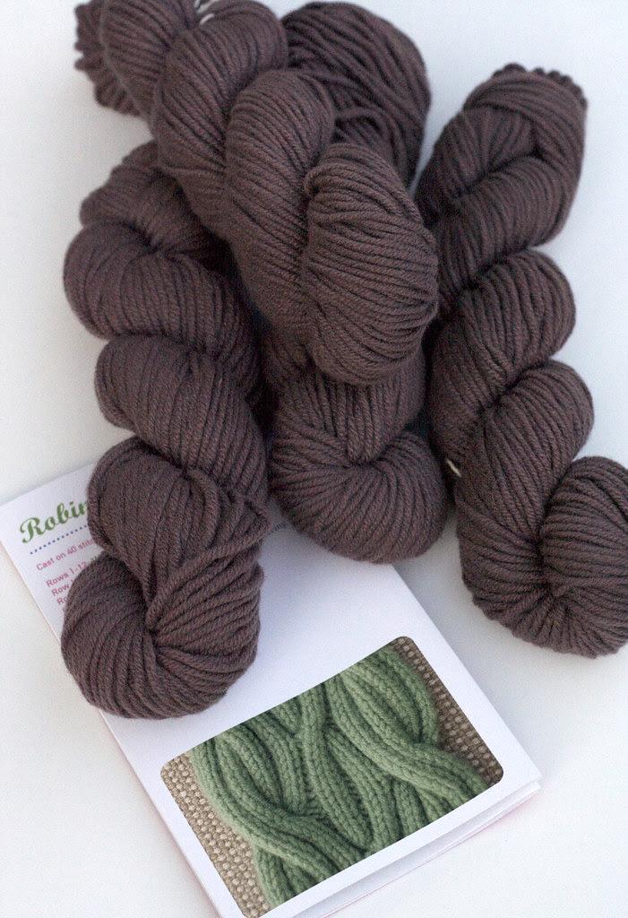 Jade Sapphire cashmere scarf kit