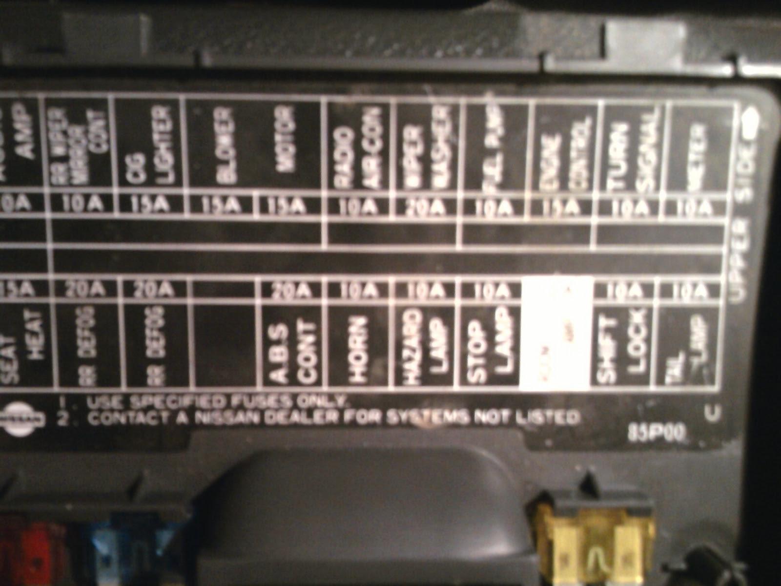 1986 Nissan Maxima Fuse Box Diagram Wiring Diagram Ultimate2 Ultimate2 Musikami It