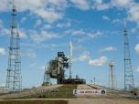 Ares I-X at Launch Pad 39B