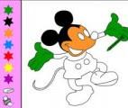 Mickey Mouse Boya Oyun Skor