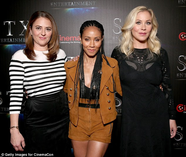 We're all in this together: She was at The State of the Industry: Past, Present and Future and STX Entertainment Presentation event to discuss her upcoming movie Bad Moms