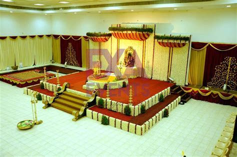 Wedding Event Management   Kerala Hindu Wedding Stage