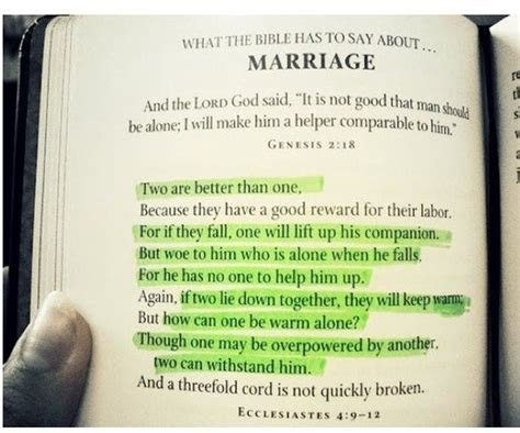 Bible verse for wedding / marriage   words of wisdom