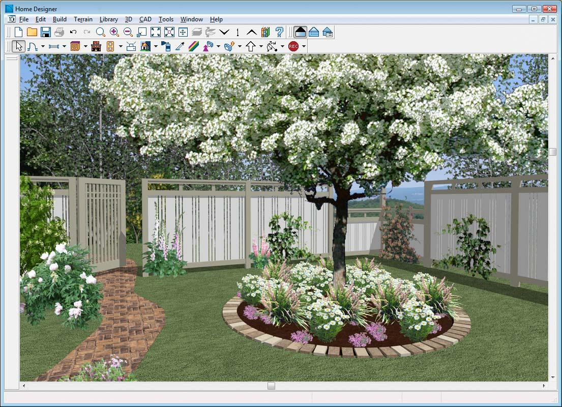 Fence Line Landscaping Ideas - Landscape Guide: Design Your Landscape Estimating Software